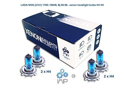 Preisvergleich Produktbild LADA NIVA 2121 1700 i 59kW, Bj 06.96-. Xenon-Scheinwerfer H4 H4