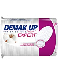 Demak'Up Duo+ - Cotons à Démaquiller - 50 Cotons Ovales - Lot de 4