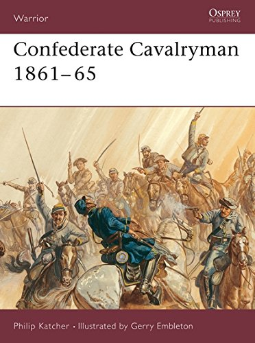 Confederate Cavalryman 1861-65: 1861-1865 (Warrior)