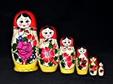 Russian Nesting Doll, Semenov 6pc by 'Nesting dolls,Matrioshka doll'