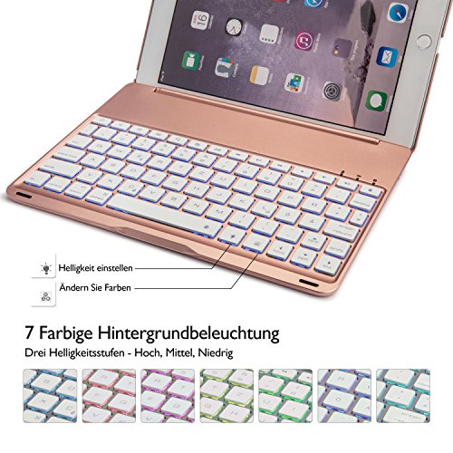 deutsch ipad pro 9 7 tastatur iegrow ultra thin ipad. Black Bedroom Furniture Sets. Home Design Ideas