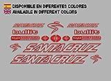 Ecoshirt BM-S60F-SA9U Pegatinas Santa Cruz Bullit
