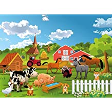 Tapete kinderzimmer tiere  Suchergebnis auf Amazon.de für: fototapete tiere