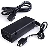Official Microsoft Xbox 360 Slim Power Supply Ac Adapter (Bulk Packaging)