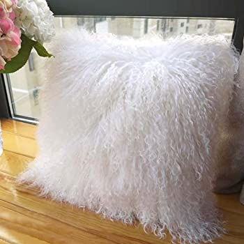 New Teddy Soft Cuddly Fluffy Mongolian Faux Fur White