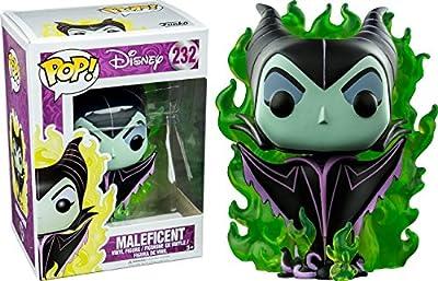 Funko - Figurine Disney - Maleficent In Green Flame Exclu Pop 10cm - 0889698117883