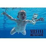 Póster Nirvana Nevermind
