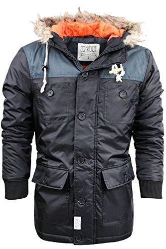 D-Struct - Manteau - Homme Noir