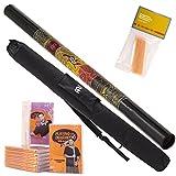 Australian Treasures - Meinl Starter Pack un Didgeridoo DDG1-BK + DvD + cire sac