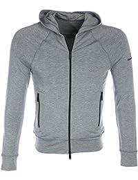 DSquared2 Sweat Top Zip Hoody in Grey