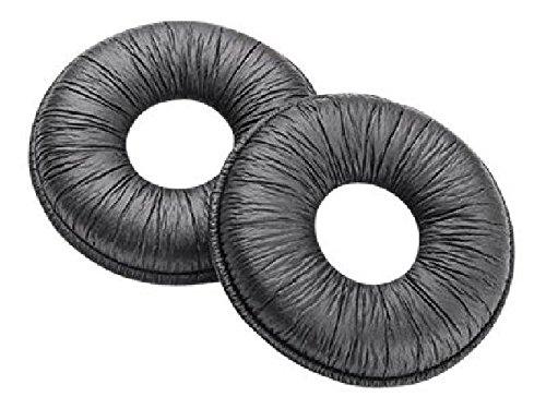 Plantronics Ohrkissen für Supra Plus, Entera Kunstleder VE=25 Stück Ersatzteile sind vom Umtausch ausgeschlossen! 38310-25 (Plantronics Supra Headset)