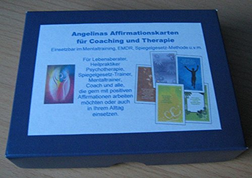 Angelinas Affirmationskarten für Coaching und Therapie: Einsetzbar im Mentaltraining, EMDR, Spiegelgesetz u.v.m.