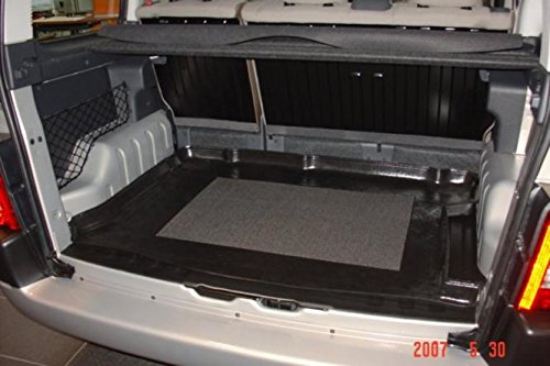 Kofferraumwanne mit Anti-Rutsch passend für Citroen Berlingo Multi Space / Combi mit Modubox rechts 1998-2007