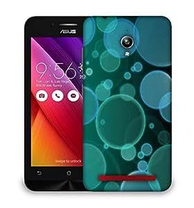 Snoogg bubbles design 2380 Designer Protective Back Case Cover For Asus Zenfone GO