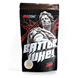 Big Zone BATTLE WHEY | Whey Protein Concentrate Eiweiss | Lecker Qualität Made in Germany | 1000g 1KG Pulver (Honig mit Milch)