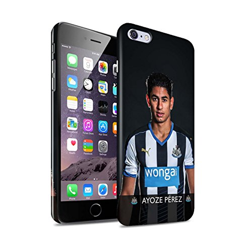 Offiziell Newcastle United FC Hülle / Glanz Snap-On Case für Apple iPhone 6S+/Plus / Pack 25pcs Muster / NUFC Fussballspieler 15/16 Kollektion Ayoze