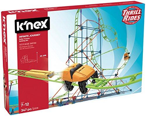 K'Nex - Montaña Rusa Infinite Journey, 347 Piezas (41211)