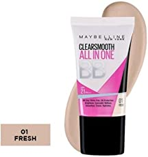 Maybelline Color Clear Smooth All In One BB Cream (01 Fresh, 18ml)