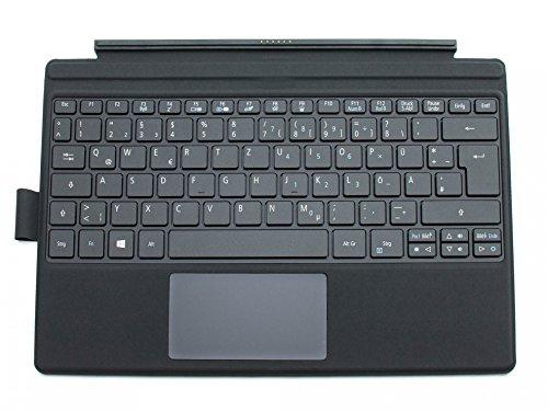 Acer Tastatur inkl. Topcase DE (deutsch) schwarz/schwarz mit Backlight Original Switch Alpha 12 (SA5-271P) Serie