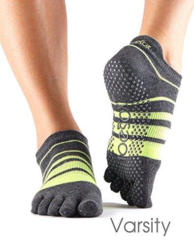 toesox-full-toe-low-rise-grip-socks-varsity-small