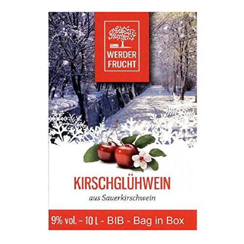 Werder Frucht Glühwein 10 Liter Einweg Bag in Box BIB verschiedene Sorten Geschmack Kirsche