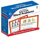Task Cards: Word Problems Grade 1 Board ...