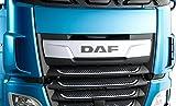 10-teiliges Set Edelstahl Front Grill Zubehör für neue XF 106Trucks Spiegel poliert Dekorationen