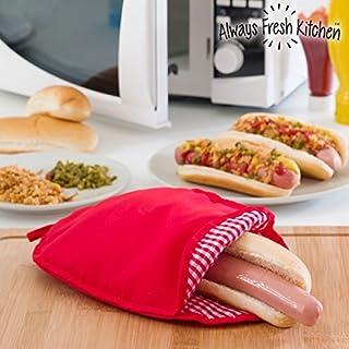 Always Fresh Kitchen Umschlag für Kochen Hot Dog mikrowellengeeignet