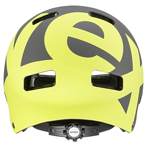 UVEX Erwachsene 5 Bike Pro Freeridehelm, Gray/Lime Mat, 58-61 - 2