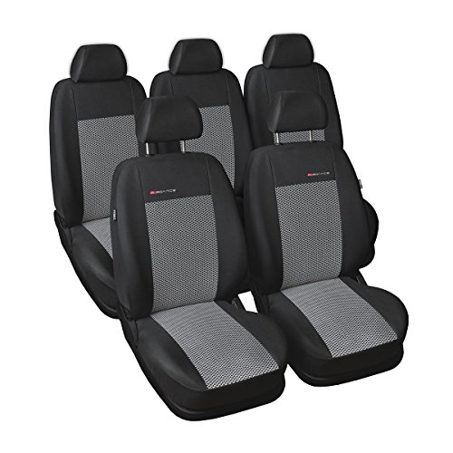 ELEGANCE (E2) (totalmente a medida) - Juego de fundas de asientos a: Renault Scenic II - (2003-2009)