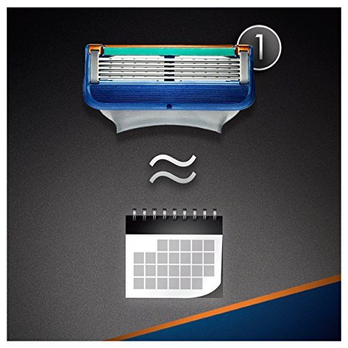 Gillette Fusion Men's Razor Blades, Standard Packing – 8 Blades