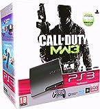 Console PS3 320 Go noir + Manette PS3 Dual Shock 3 - noir + Téléchargement Call of Duty Modern Warfare 3 - collection 1 & 2