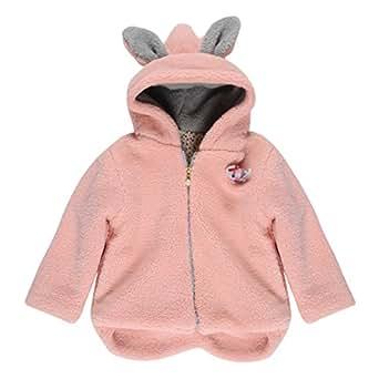 chic chic b b enfant fille v tements manteau capuche zip bunny b b cape hoodie poncho no l. Black Bedroom Furniture Sets. Home Design Ideas