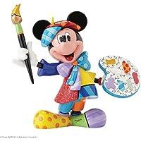 Enesco Disney By Romero Britto Minnie Pittore, Ceramica, Multicolore, 16x19x23 cm