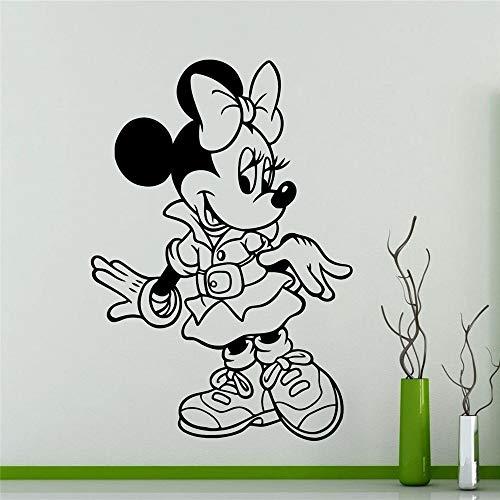 55 x 80 cm Wall Sticker Cartoni animati decorazione domestica Vivaio per bamb