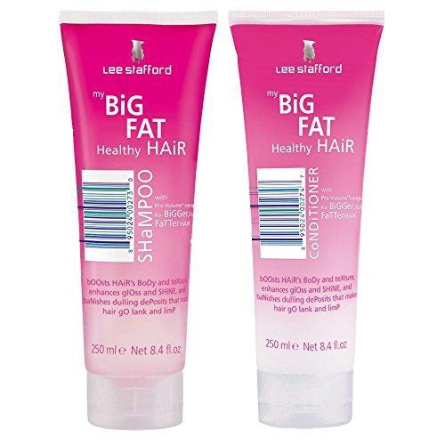 Lee Stafford My Big Fat Hair Shampoo and Conditioner Duo 250ml x2