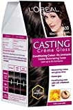 #9: L'Oreal Paris Casting Creme Gloss, Medium Brown 500, 87.5g+72ml