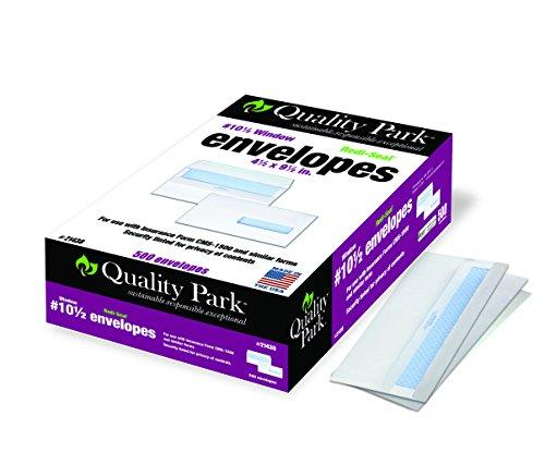 Quality Park - Claim Form Envelope,Redi-Seal,24lb,4-1/2