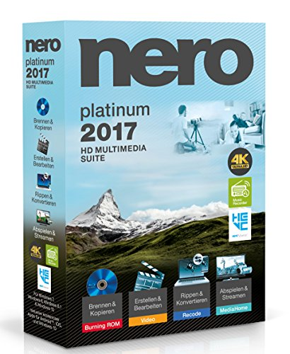 Nero 2017 Platinum - Sync-fall