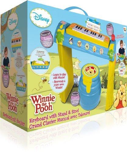 IMC Toys 160248 - Winnie The Pooh Keyboard mit Gestell und Hocker -