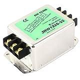 Filtro DealMux AC 115V / 20A 250Volt Calificación metal actual vivienda Power Line EMI