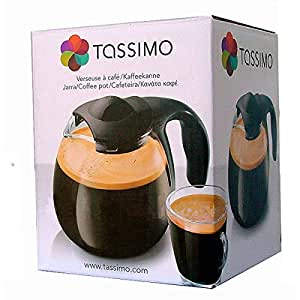 TASSIMO Glass Coffee POT / JAR / JUG with cover - By BOSCH GmbH by Tassimo