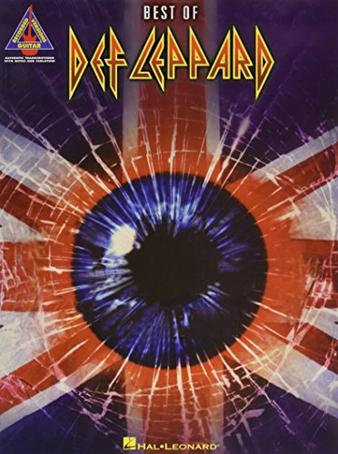 Def Leppard: The Best Of... -Piano, Voice & Guitar- (Book): Noten für Klavier, Gesang, Gitarre (Guitar Recorded Versions)