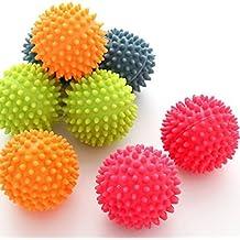 ANKKO 2pcs Bolas de lavandería reutilizable no tóxico, Bolas de lavado, Bolas secador, Color al azar