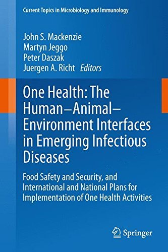 One Health: The Human-Animal-Environment Interfaces in Emerging Infectious Diseases: Food Safety and Security, and International and National Plans ... Topics in Microbiology and Immunology) (2013-11-22) par unknown