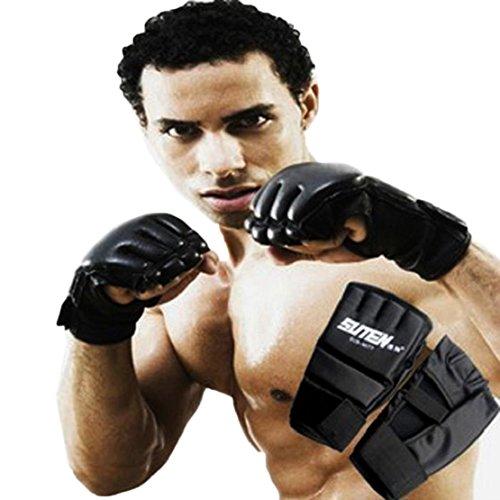 Tonsee MMA Muay Thai Boxsack Handschuhe Sparring Boxhandschuhe Fitness Training