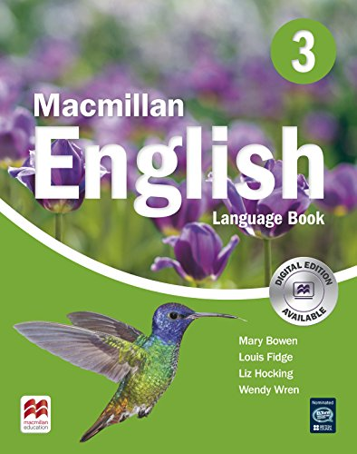 MACMILLAN ENGLISH 3 Language Book (Primary ELT Course for the Middle East) - 9781405013697