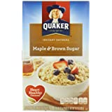 Quaker Instant Brown Sugar oat
