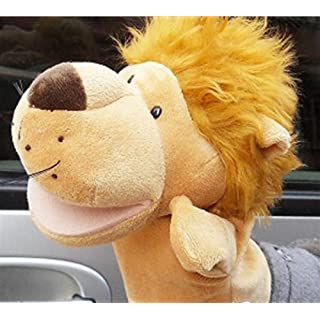 Upstudio Cute Kid Animal Plush Hand Puppet Attractive Beauty Plush Velour Animal Hand Puppets Kid Plush Toys(Lion)