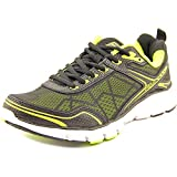 Fila Mens Memory Granted Running Shoe, Black Lime, Size 9.5